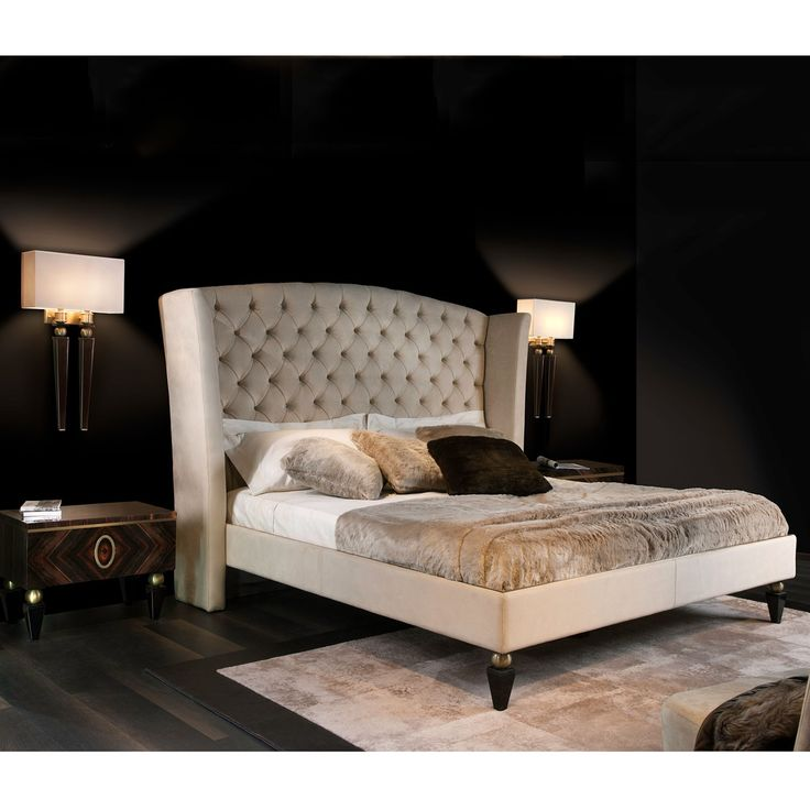 Start the day on a good foot by waking up in the perfect bed. Capital Décor Kesy Bed by WeStyleHomes to add elegance to your bedroom.