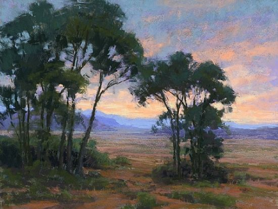Sangre de Cristo Evening by Kim Lordier Pastel ~ 18 x 24