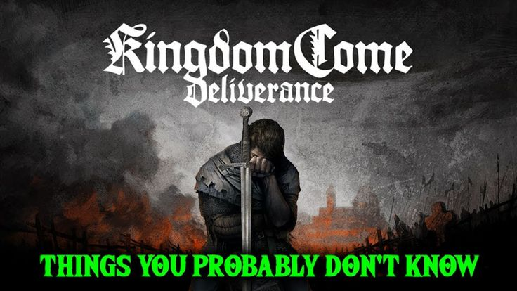 Kingdome Come: Deliverance Releases in 14 days! Here are 14 things you Don't Know.