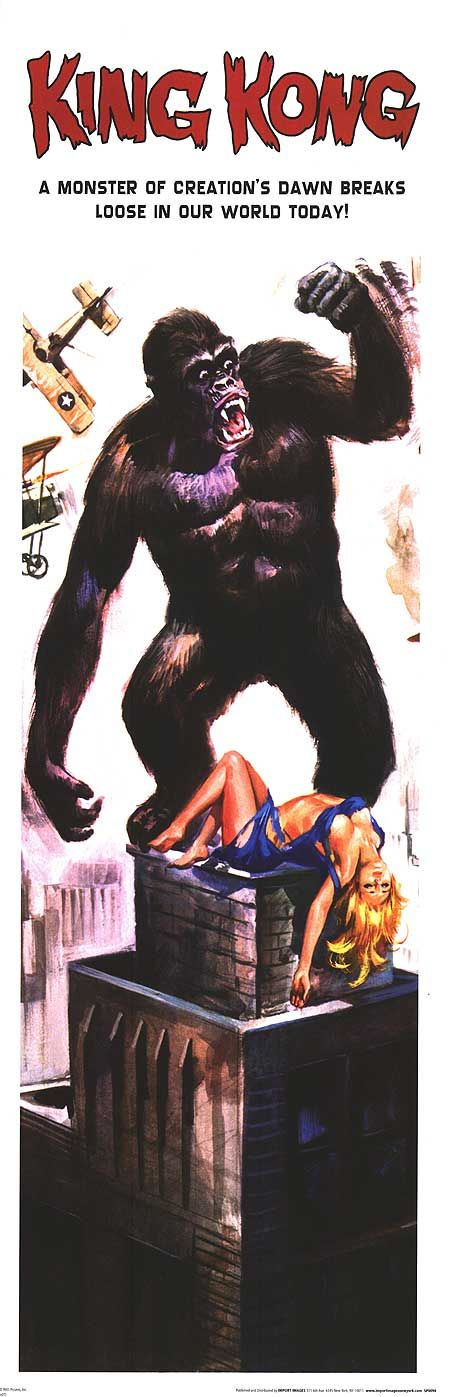 A modern wrinkle on King Kong (1933)