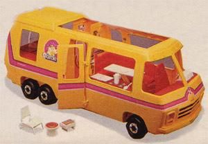 Barbie Star Traveller Motorhome - 80s Toys and Games, Dolls and Figures | Stuff from the 80s