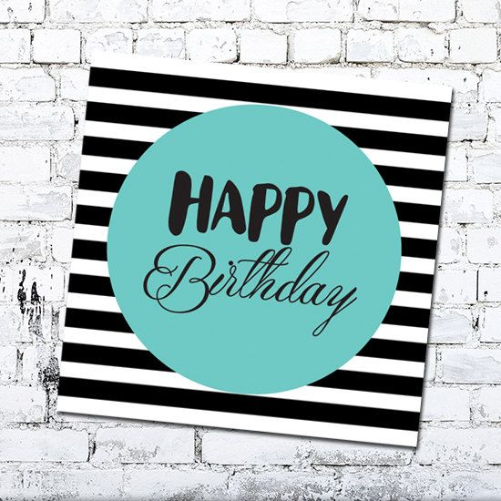 Happy Birthday Card - Greeting Card by Thingsforasmile on Etsy