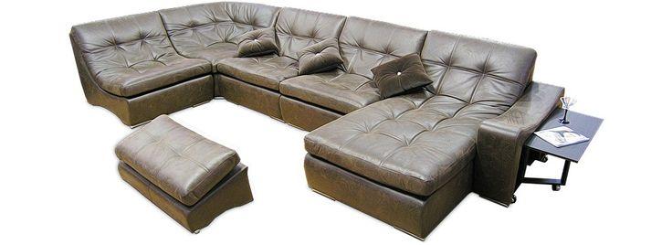Модульный диван «IQ 125» — купите большой диван в Москве | «Умные Диваны»