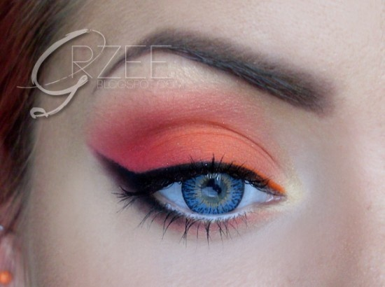 Mandarine Look - Summer back! at least on eyes... :)