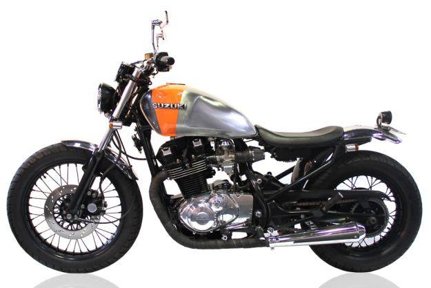1984 SUZUKI GR650 - ELLASPEDE - HELL KUSTOM