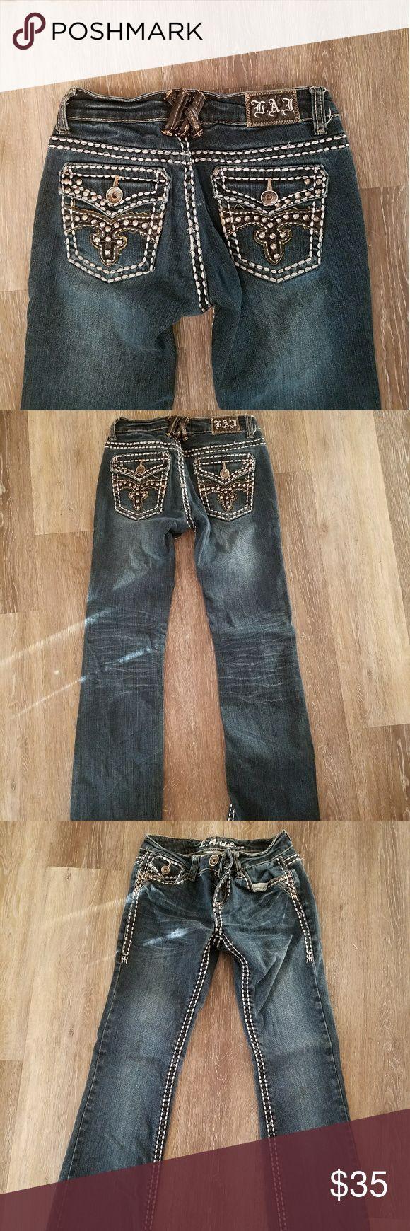 New La Idol jeans New LA Idol jeans size 3 LAidol Jeans Boot Cut