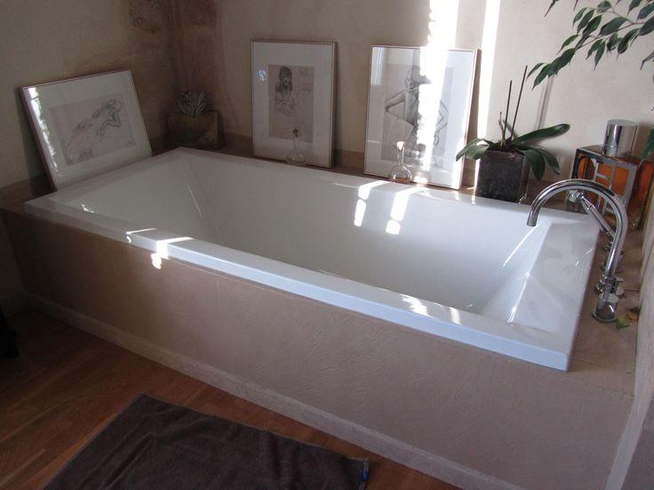 Les 25 meilleures id es de la cat gorie tablier de for Peut on repeindre une baignoire