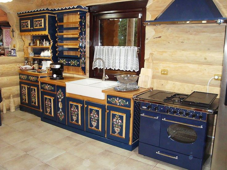 Transilvanean kitchen, Romania