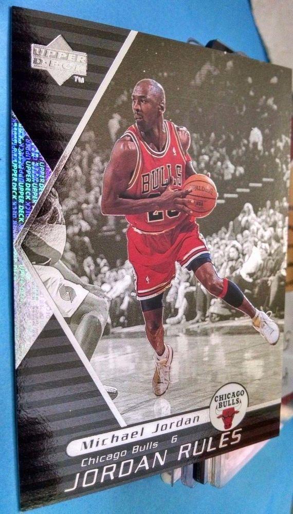 1998-99 Upper Deck Ovation Jordan Rules #J9 Michael Jordan Team: Chicago Bulls #ChicagoBulls