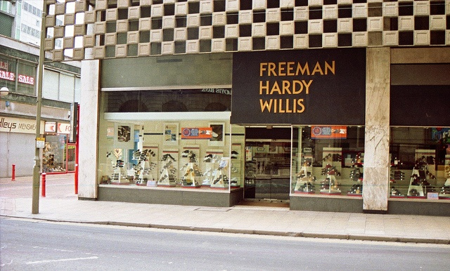 Freeman Hardy & Willis My shoes always bought here till I got a Saturday job