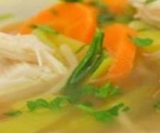 """Rezept Hühnersuppe – dem Schnupfen ein Schnippchen – mit der """"Gemüse-/Reis-Option"""" von HartmutScholl - Rezept der Kategorie Suppen"""