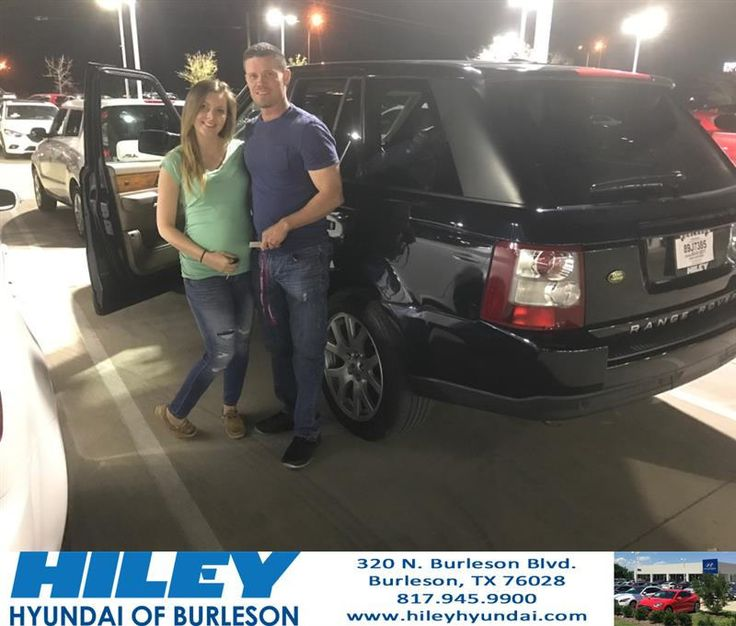 https://flic.kr/p/RkRkem | Congratulations Crystal on your #Land Rover #Range Rover Sport from Onye Madu at Hiley Hyundai of Burleson! | deliverymaxx.com/DealerReviews.aspx?DealerCode=KNWA