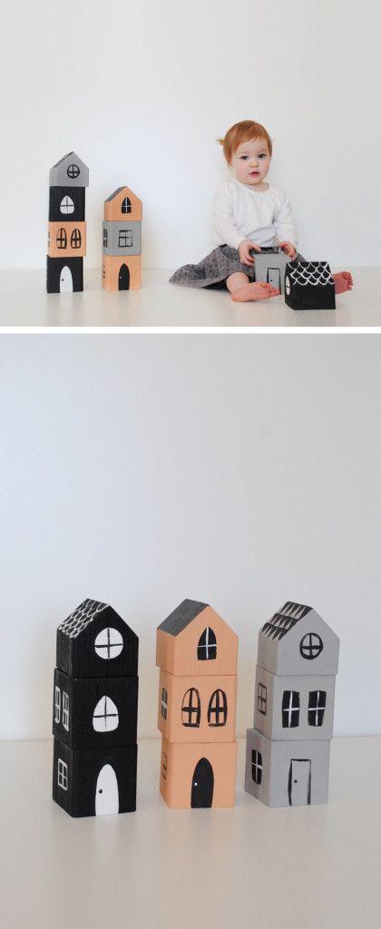 Mer Mag | Stacking House Blocks