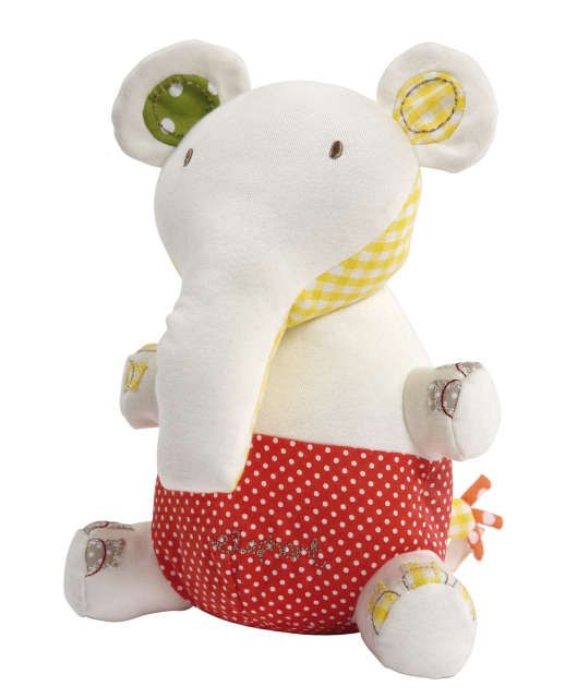 Elfie & Mop - Elephant Chime Toy
