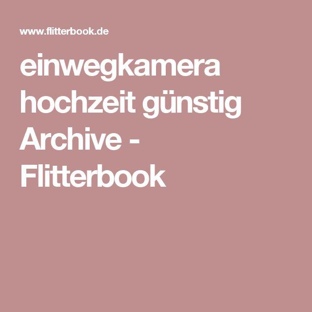 einwegkamera hochzeit günstig Archive - Flitterbook