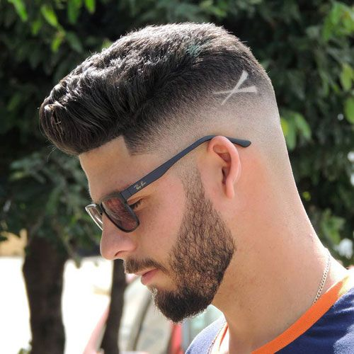 Trending Hairstyles 2019 - Best Short Haircuts For Men - EveSteps Mens Hairstyles Fade, Cool Mens Haircuts, Best Short Haircuts, Hairstyles Haircuts, Hairstyles For Boys, Hair Designs For Boys, Haircut Designs For Men, Cool Hair Designs, Boys Haircuts With Designs