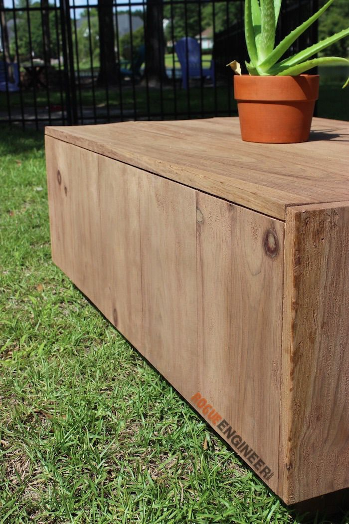 Free Modern Floating Coffee Table Free Diy Plans Http Rogueengineer
