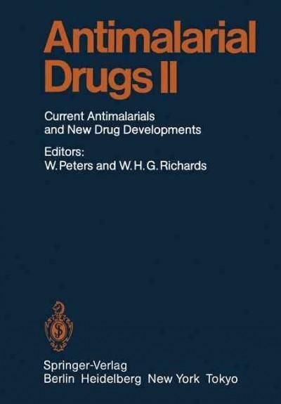 Antimalarial Drug II: Current Antimalarial and New Drug Developments