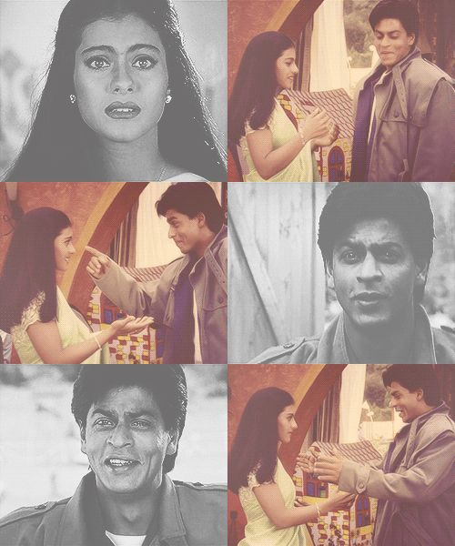 #Shahrukh Khan and #Kajol - #KKHH