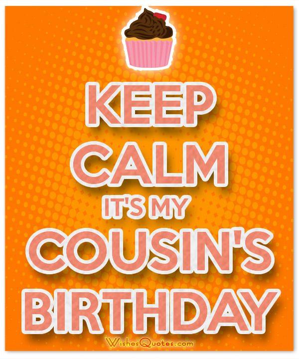 17 Best Cousin Birthday Quotes On Pinterest