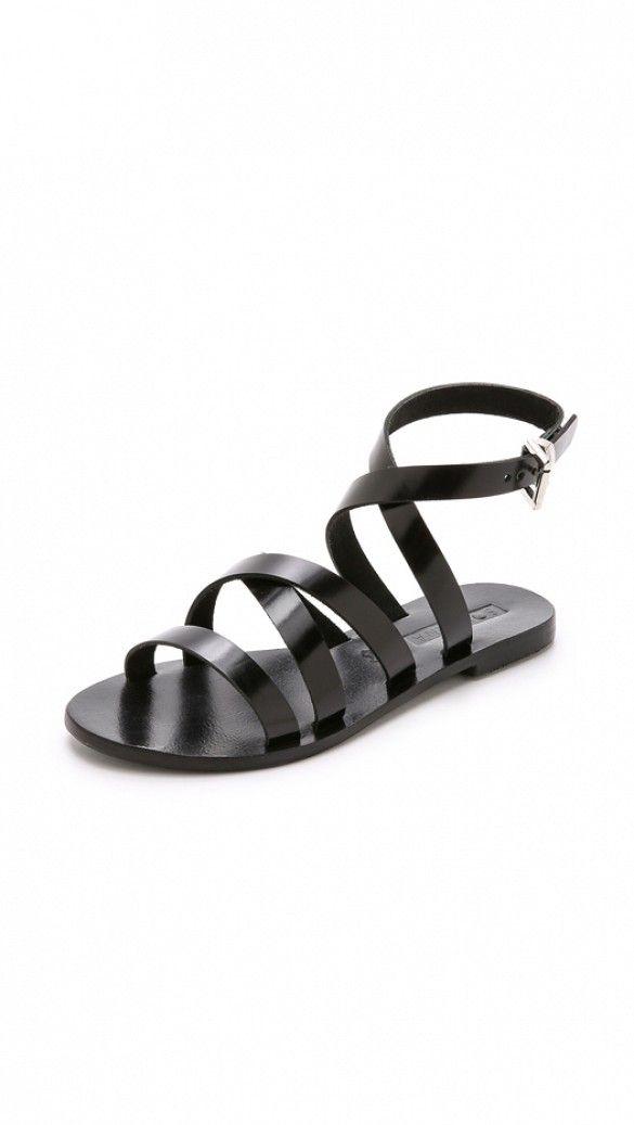Sol Sana Minx Sandals in black