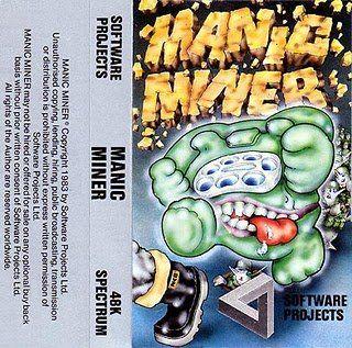 Manic Miner - Spectrum 48k Cassette