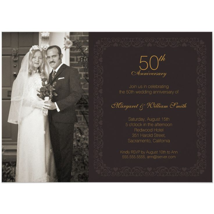 25 best ideas about Anniversary party invitations – 10th Wedding Anniversary Party Invitations