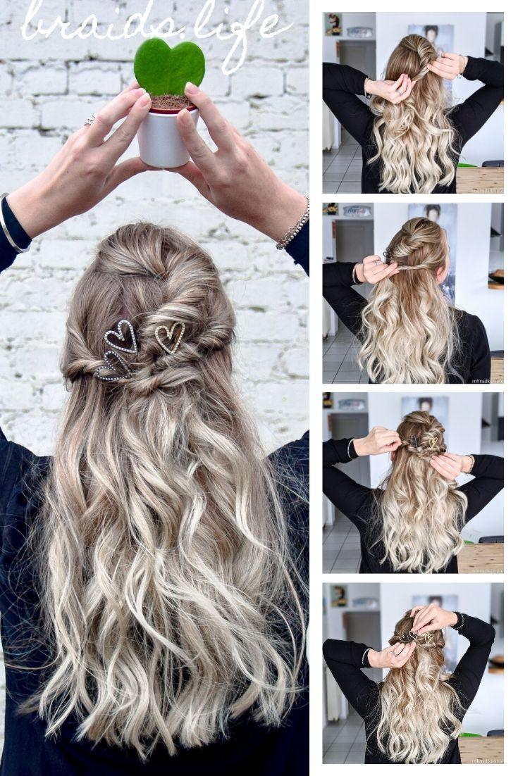 33+ Frisur lange haare halboffen anleitung inspiration