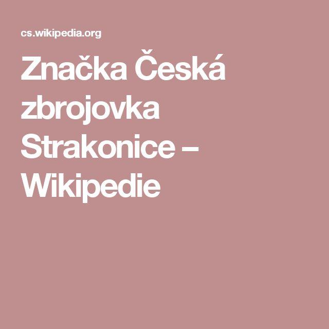Značka Česká zbrojovka Strakonice – Wikipedie