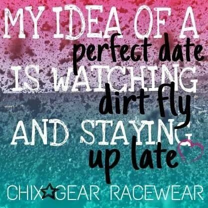 Love date nights at the track!
