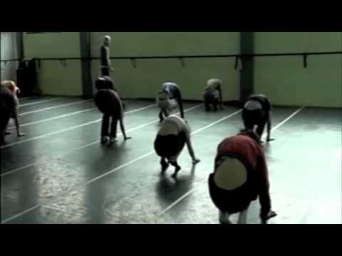 Entrenamiento Técnica de Danza contemporánea - YouTube