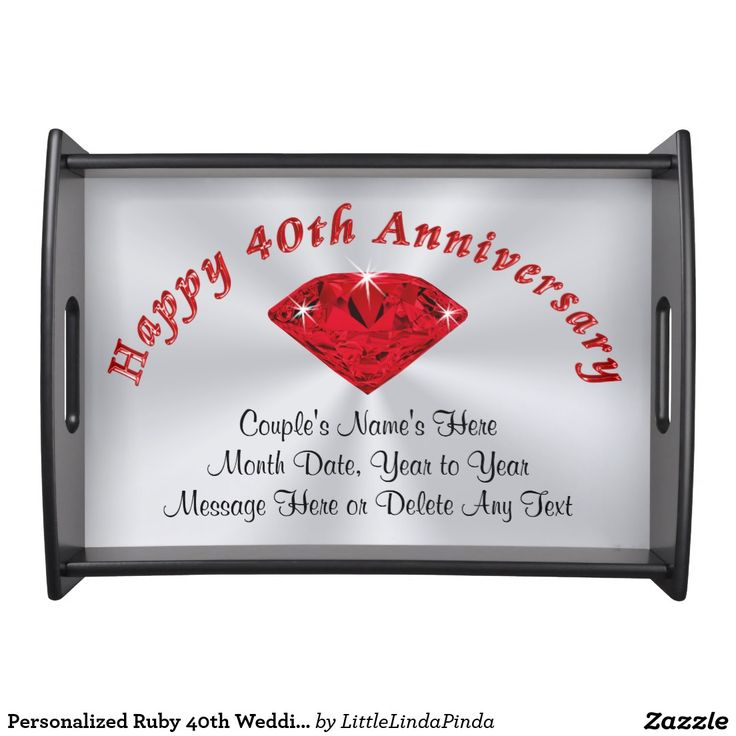 40 Wedding Anniversary Gift For Husband : ... gift ideas and other year anniversary gifts for wife, husband, couples
