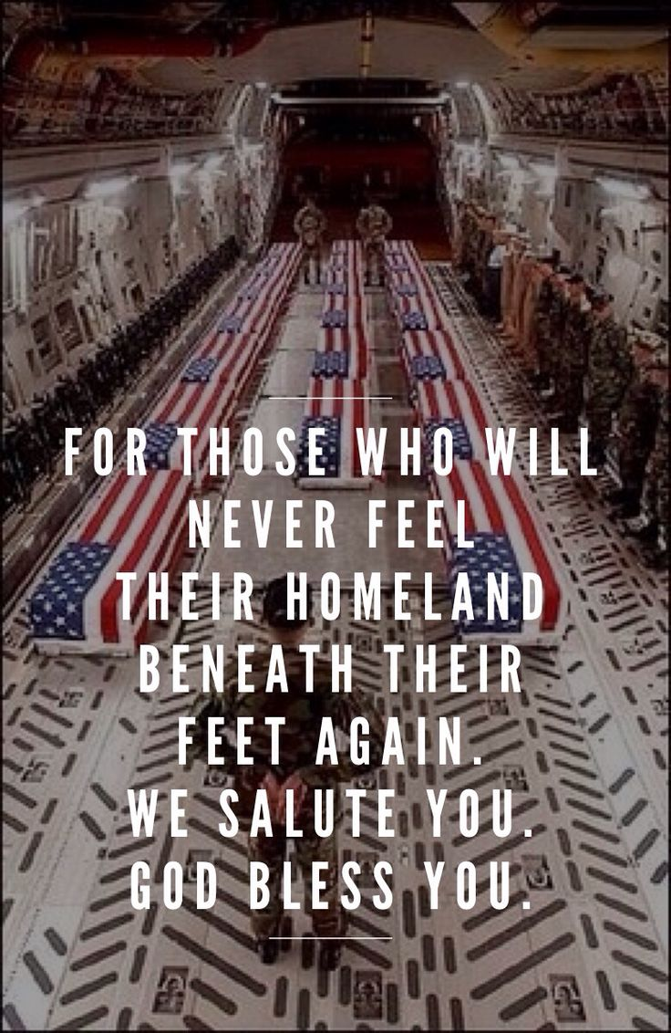 God Bless America and all the brave men and women putting their lives on the line for our freedom and safety!