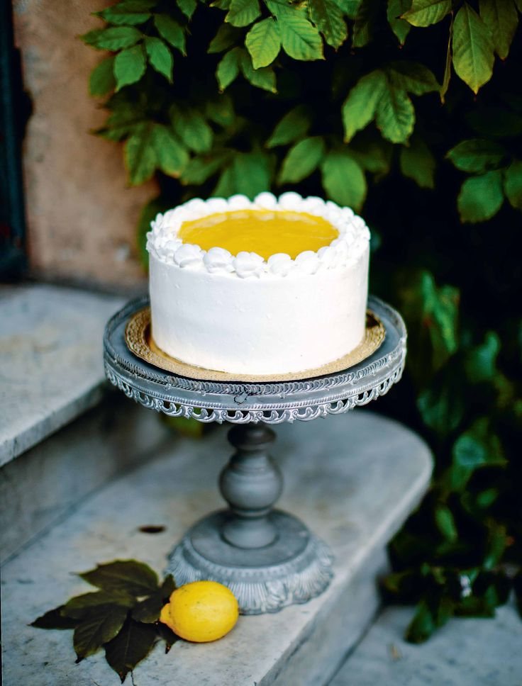 Lemon and mascarpone cake recipe from The Italian Baker by Melissa Forti | Cooked