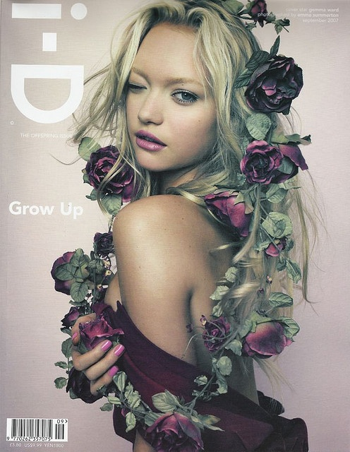 Gemma Ward for i-D magazine, photo by Luminous Phenomenon on flickr