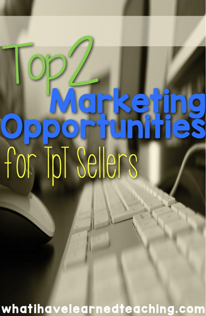 Learn about two of the most important marketing strategies for as a TpT Seller.