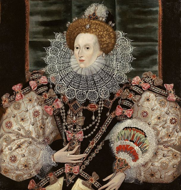George Gower, Portrait of Queen Elizabeth, 1600