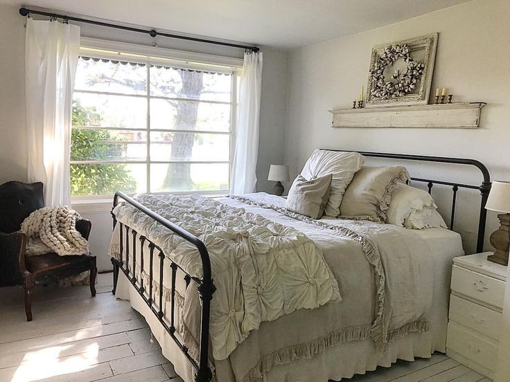 """285 Likes, 35 Comments - Jessica Anderson (@andersonfarmstead_6) on Instagram: """"Our new room is far from done.... and honestly I was so sad to move out of our shiplap room but I'm…"""""""