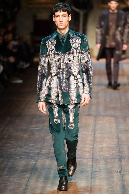 Wilhelmina Models: Nicolas Ripoll for Dolce & Gabbana, MFW F/W '14 - See more at: wilhelminanews.com