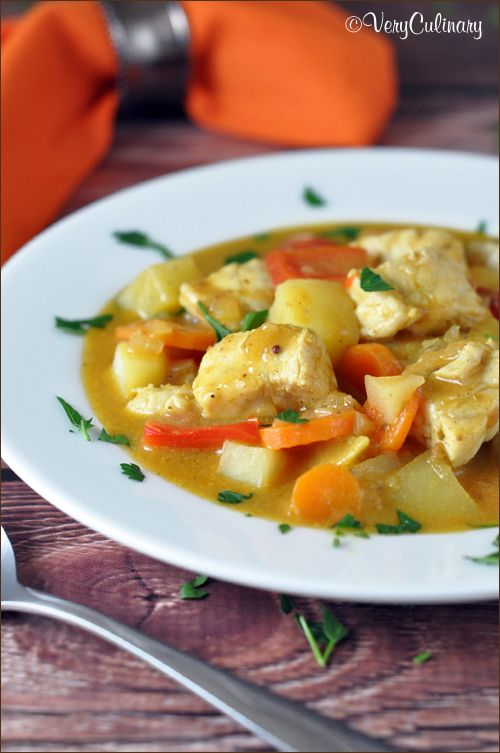 Thai Fish Curry on www.veryculinary.com