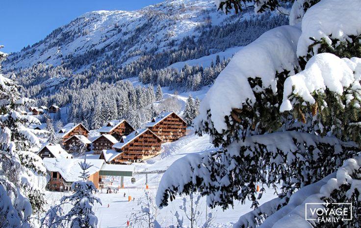 Oz en oisans station de ski famille