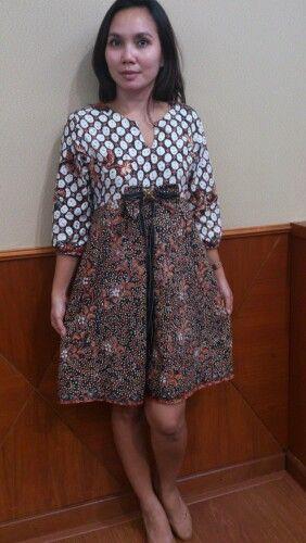 Baby doll Batik dress