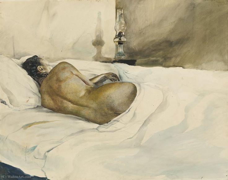 Soir de Printemps - Andrew Wyeth