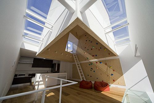 Outdoors Indoors House - BE-FUN Design
