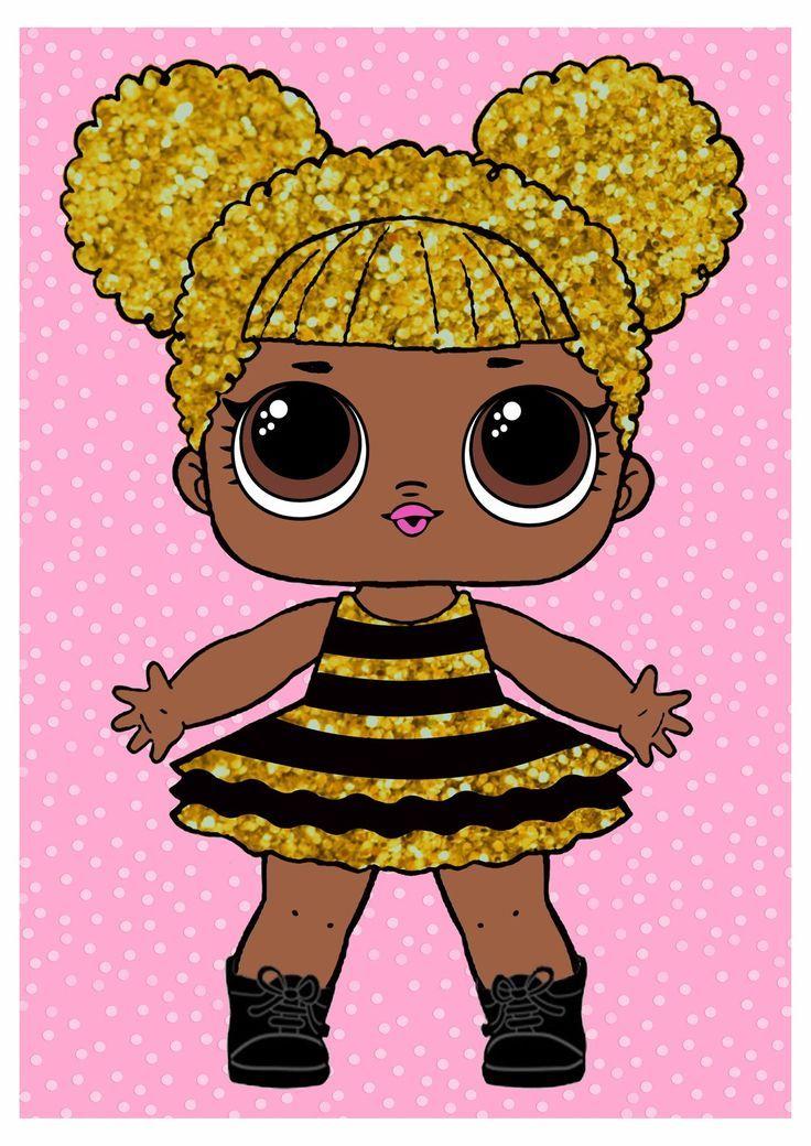 LOL Surprise Queen Bee Poster zum kostenlosen Ausdrucken. – Ideen und Materialgr… – lol
