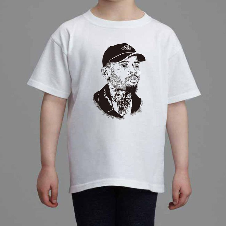 Chris Brown Royalty wrist Kids White Tee (Unisex) // Babes & Gents // www.babesngents.com