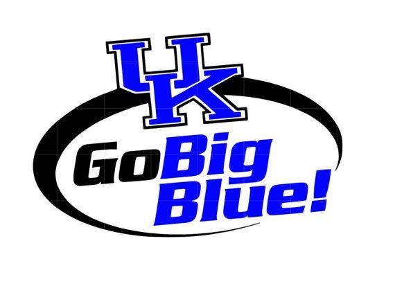 SVG STUDIO University of Kentucky Go Big Blue by PermanentMoments