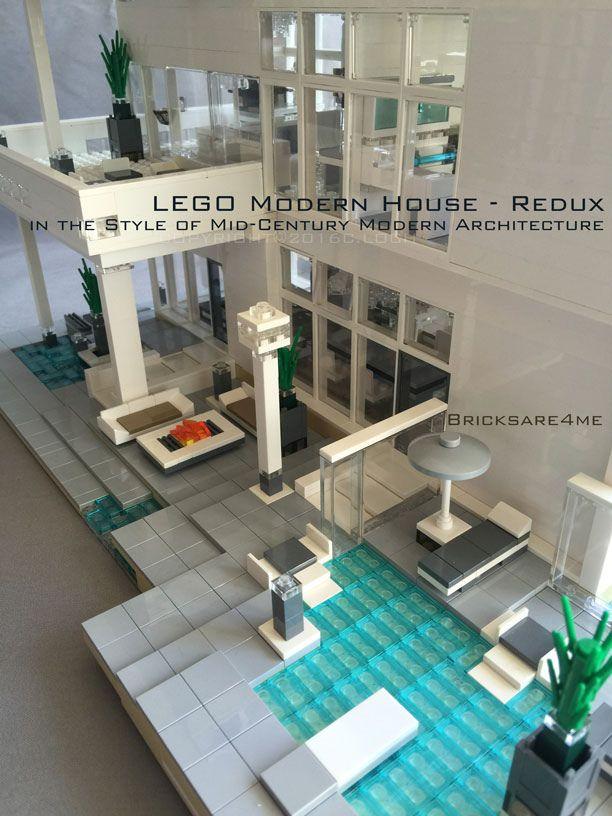 Modern Architecture Lego 215 best lego architecture images on pinterest   lego architecture