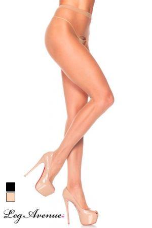 Collants Ouverts pour Travesti Leg Avenue Basic