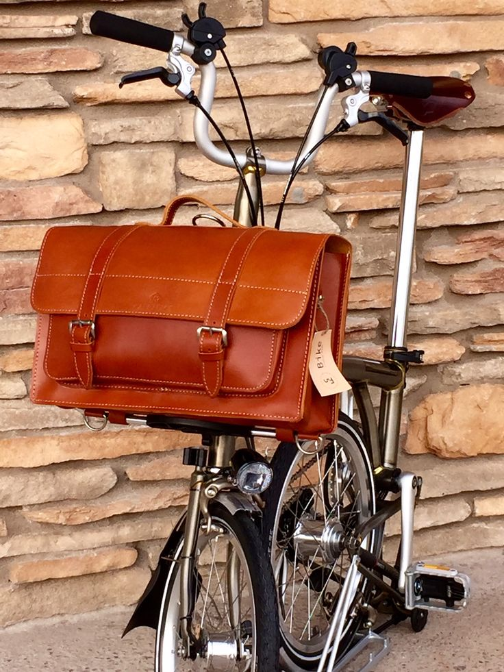Carradice Leather Folder for Brompton « PortaPedal Bike